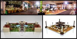 Metro Exhibition Stand 3D Photo