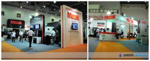 MAZAK Exhibition Stand Design Photo