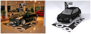 Peugeot Showroom Design
