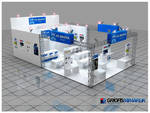 Akmakina Exhibition Stand 3D