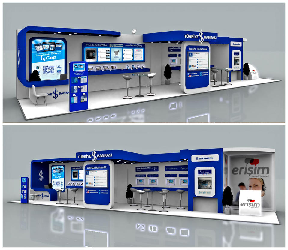 Exhibition Stand Images : Is bankasi exhibition stand d by griofismimarlik on