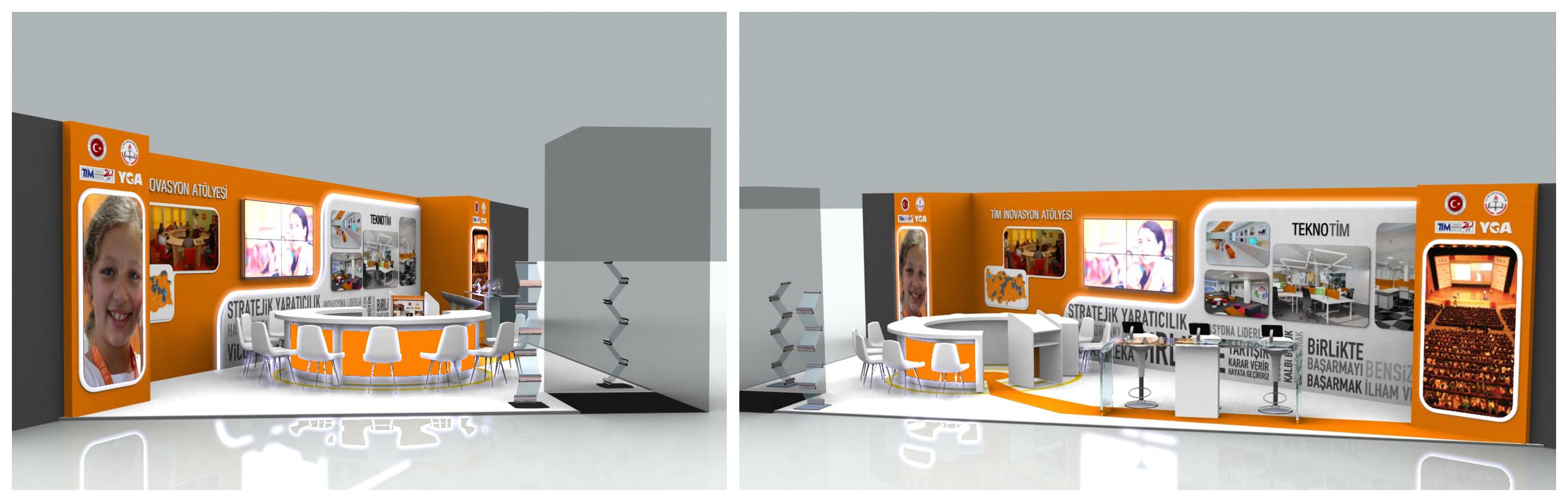 Exhibition Stand Etiquette : Yga exhibition stand d by griofismimarlik on deviantart