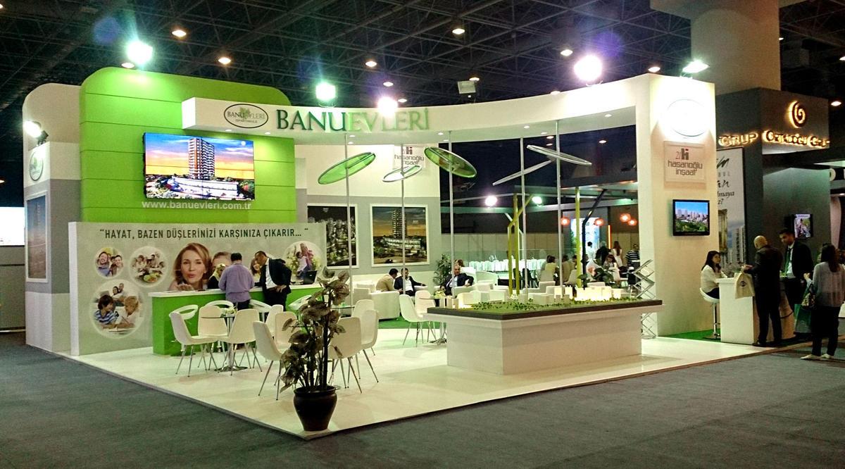 Exhibition Stand Etiquette : Banu evleri exhibition stand design photo by