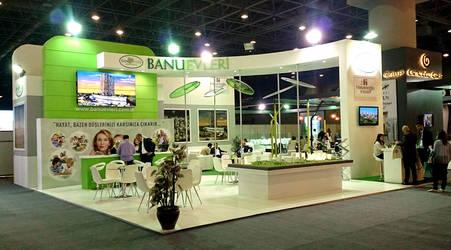 Banu Evleri Exhibition Stand Design Photo