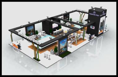 Ortadogu Grup Exhibition Stand Design 3D