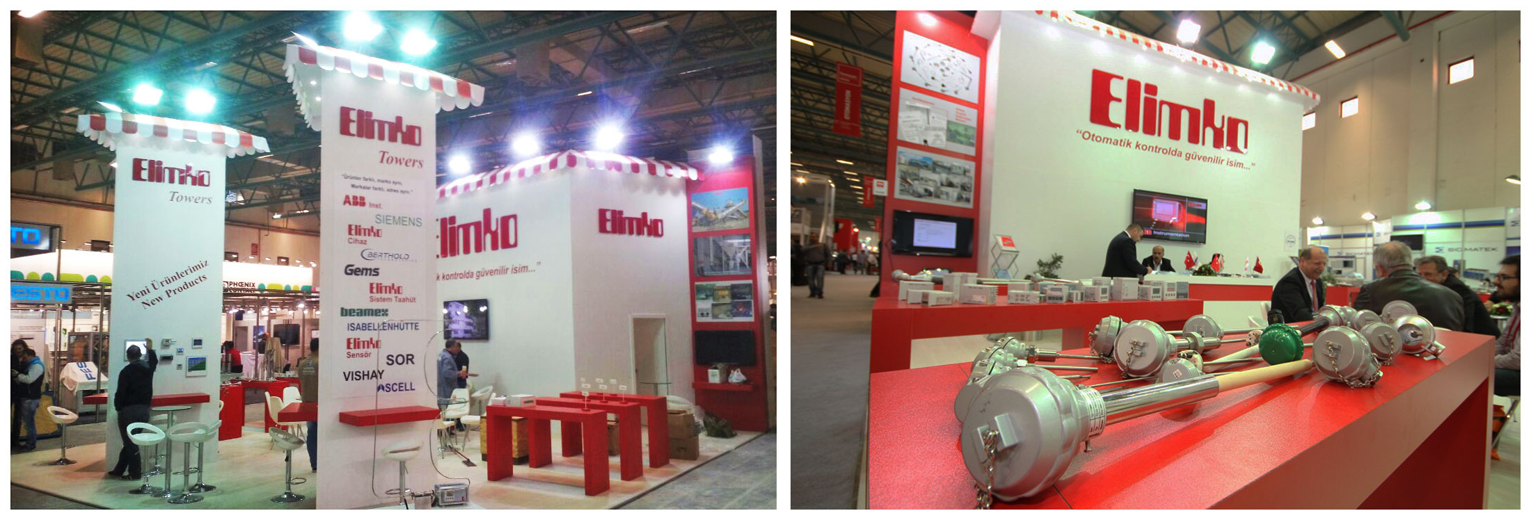 Exhibition Stand Etiquette : Elimko exhibition stand design photo by griofismimarlik on