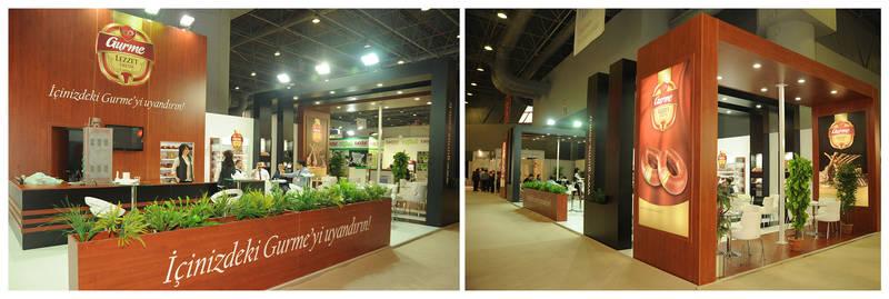 Gurme Exhibition Stand Design Photo