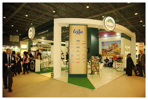 Kale Gida Exhibition Stand Design Photo