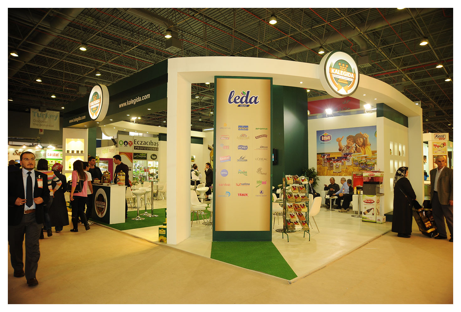 Kale Gida Exhibition Stand Design Photo
