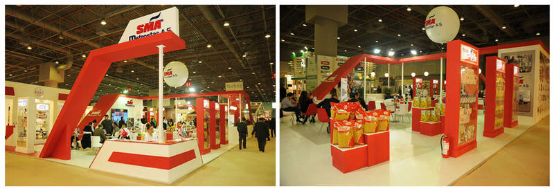 SMA Exhibition Stand Design Photo