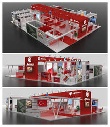 Aytemiz Exhibition Stand Design 3D