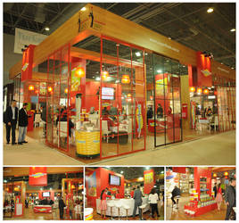 Superfresh Exhibition Stand Design Photo