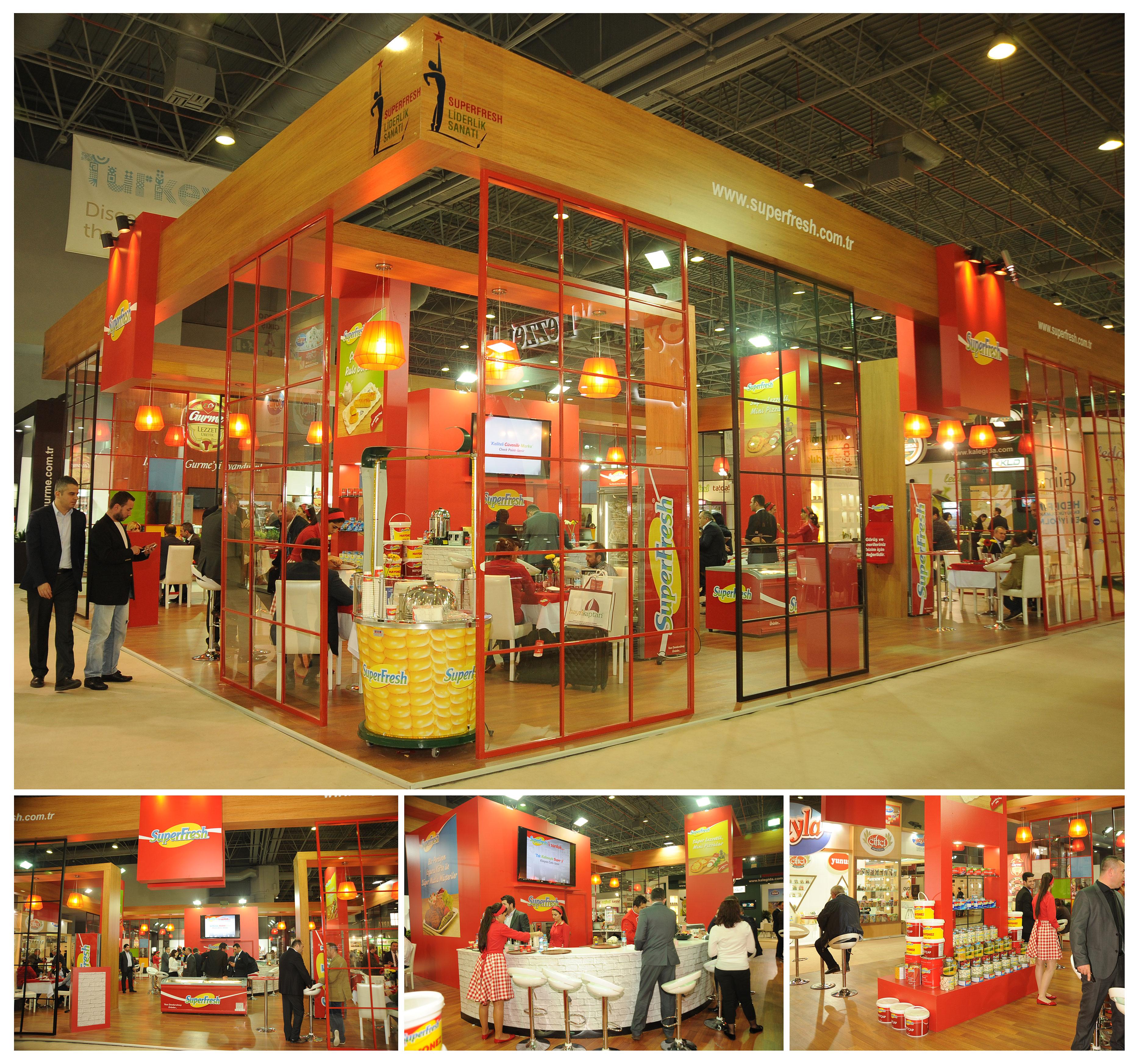 Superfresh Exhibition Stand Design Photo by GriofisMimarlik