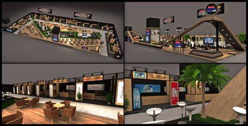 Ulker Eksper Exhibition Stand Design 3D