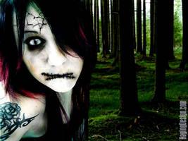 Forest Zombie by cronoentreri