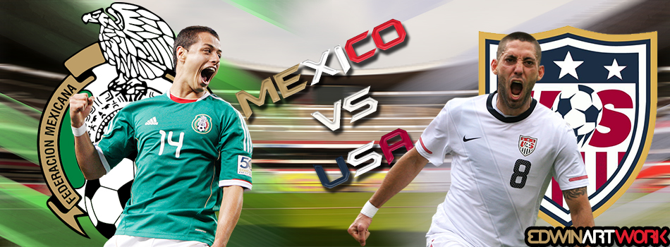 mexico versus america Mexico's hector herrera gets away from uruguay's egidio arevalo rios  argentina vs chile ps here is the anthem  a statement from copa america centenario loc pictwittercom.