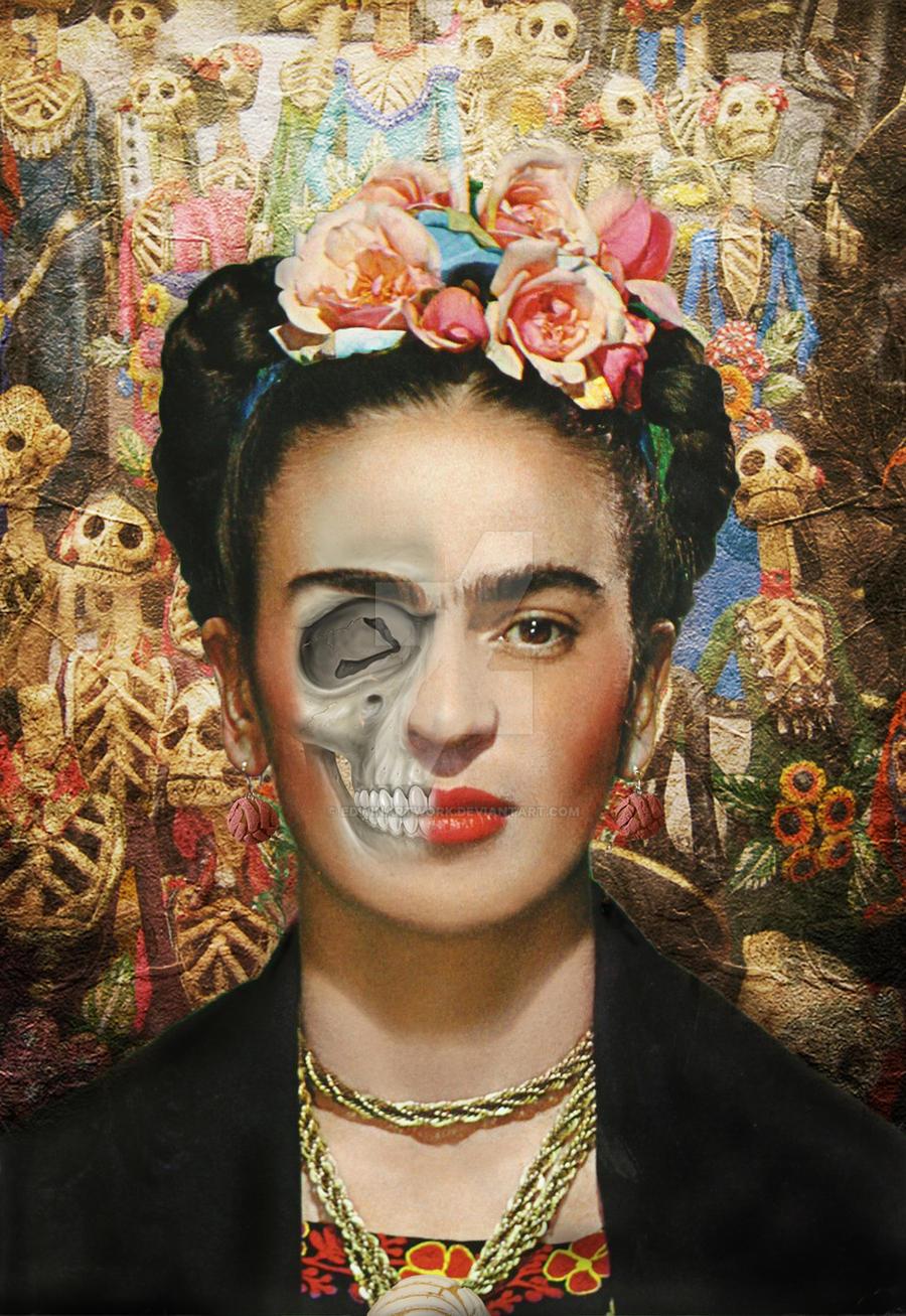 Frida Kahlo by EdwinArtwork on DeviantArt