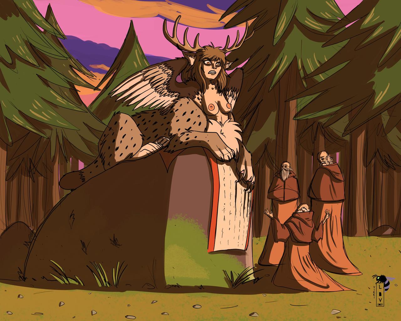 forest_sphinx_and_the_3_ancient_wises_by_erby500_deftg7f-fullview.jpg?token=eyJ0eXAiOiJKV1QiLCJhbGciOiJIUzI1NiJ9.eyJzdWIiOiJ1cm46YXBwOiIsImlzcyI6InVybjphcHA6Iiwib2JqIjpbW3siaGVpZ2h0IjoiPD0xMDI2IiwicGF0aCI6IlwvZlwvYWU3MWE0YWMtZjY4Yi00MTgzLThkMTktY2Q0NmQ2ODExYzM5XC9kZWZ0ZzdmLTIwYWEzZmI2LWEwOGYtNDhkZi1hOGQ0LTgwMDgzNmU3YWZjZS5qcGciLCJ3aWR0aCI6Ijw9MTI4MCJ9XV0sImF1ZCI6WyJ1cm46c2VydmljZTppbWFnZS5vcGVyYXRpb25zIl19.aOeL7Clf-6a5dhMmziKukE-Fw7qWsNsuVgUqP2_LnXM