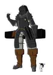 Beatrice Liesargo, in armor