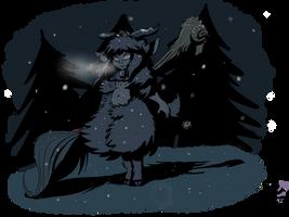 Little weregoat in the night