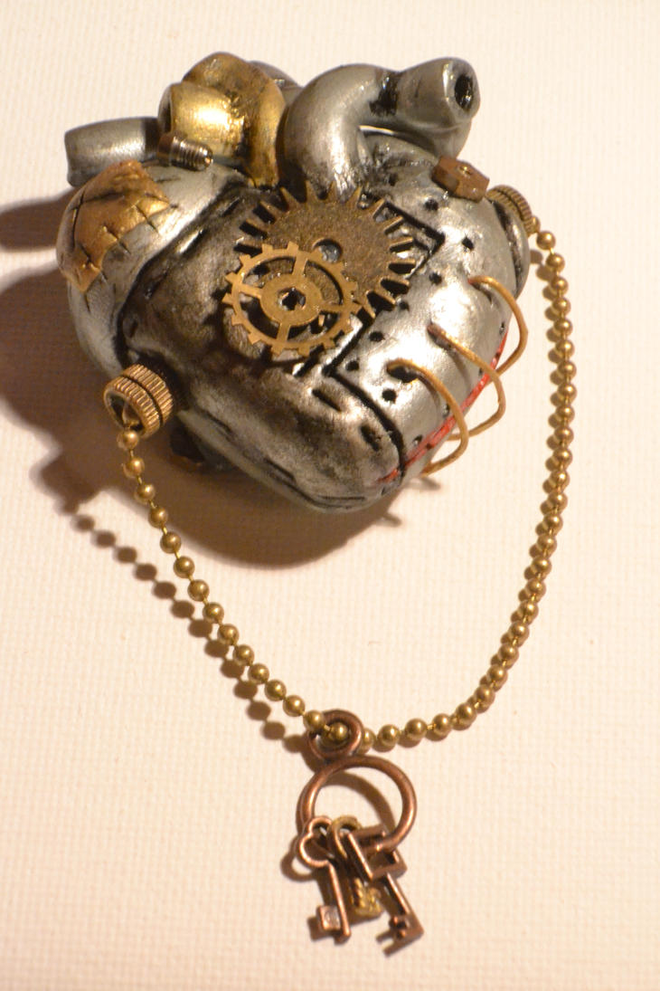 anatomy steampunk heart by Borednation on DeviantArt