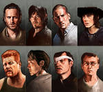 The Walking Dead, Heroes and Villains