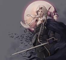 Alucard, Castlevania by MimmuArt