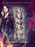 Hunger Games Filmposter by stoffdealer