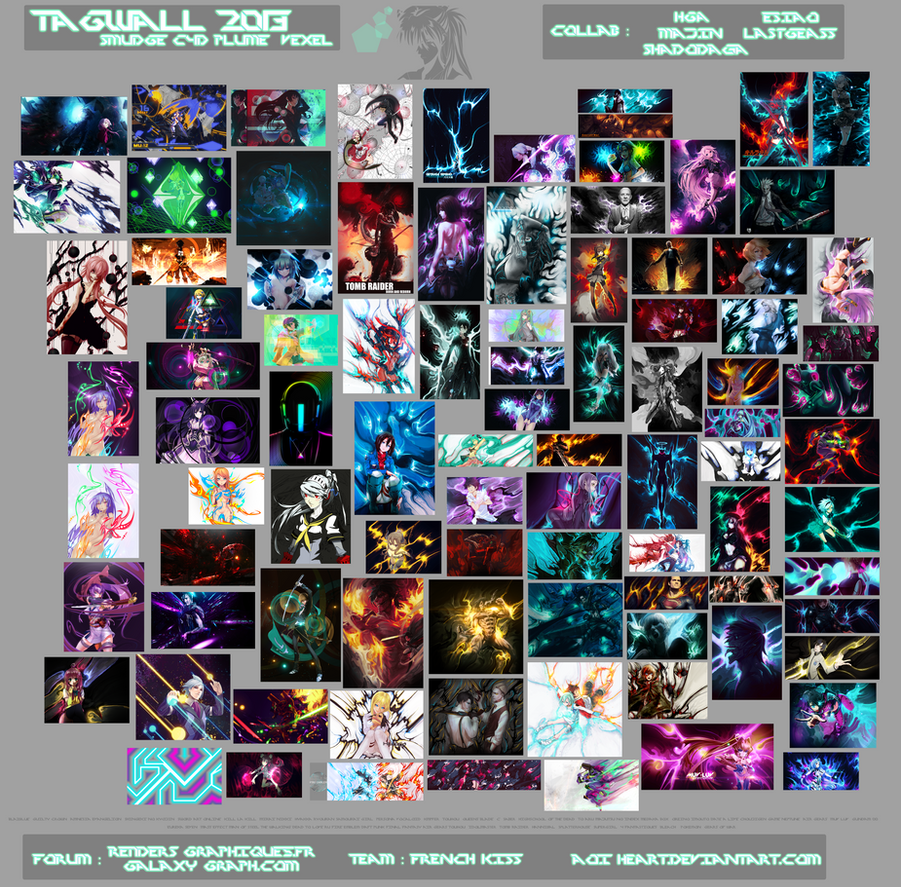 Tagwall of 2013 by Aoi-Heart