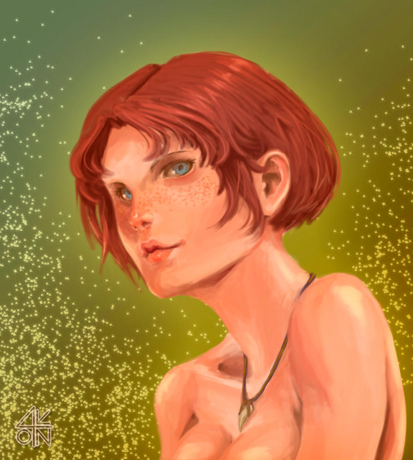 Light freckles by 4nto