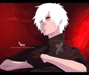 Tokyo Ghoul - kaneki ken by WALEED-HAMAD1