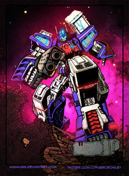 Ultra Magnus - City Commander