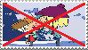 Anti Samcoln Stamp