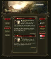 RPG style layout. For Sale by samborek