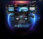 ProGamela Space Game Layout