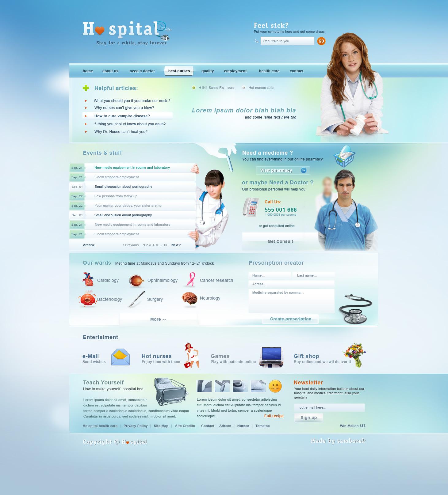Ho spital design