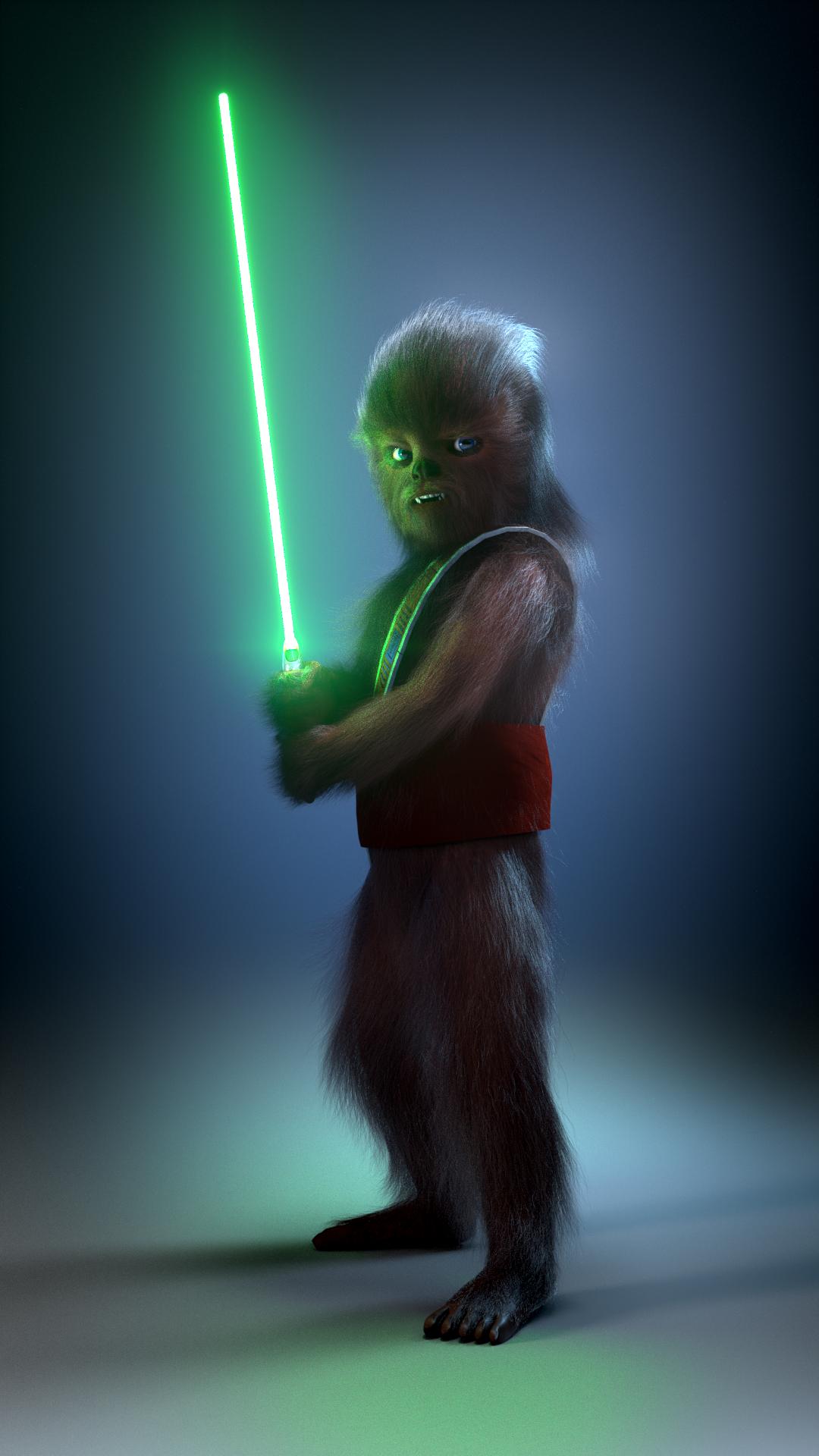 Gungi - Jedi Padawan by JAW1002