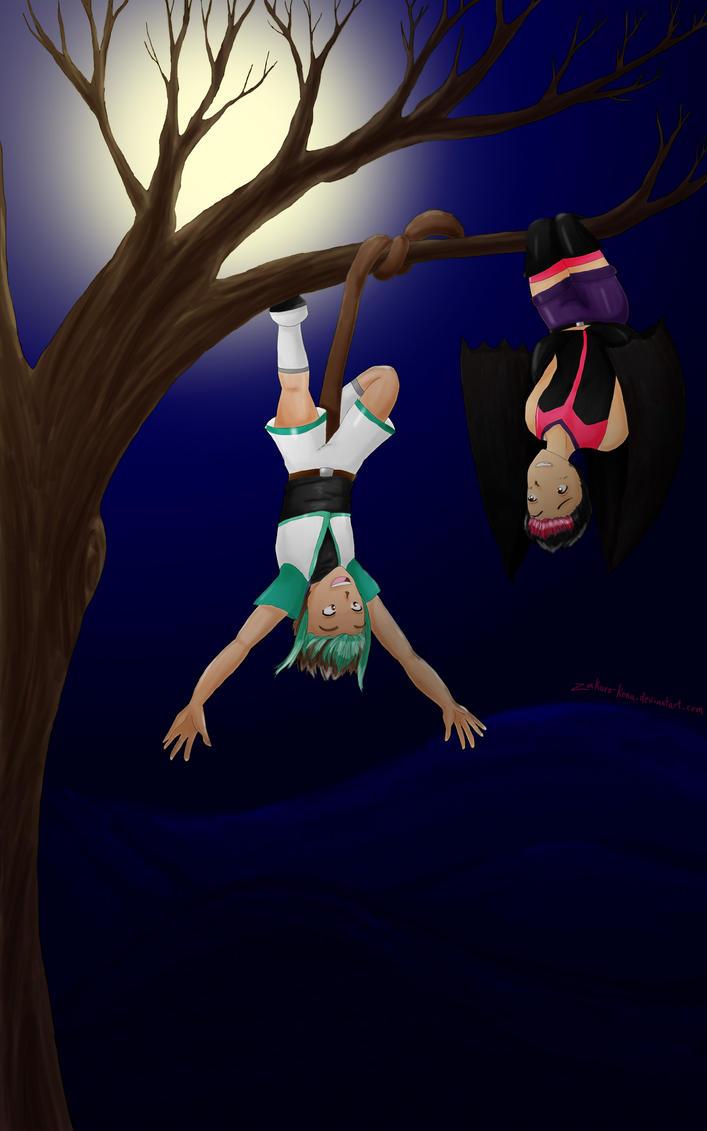 Ami and Kaika by Zakuro-Kona