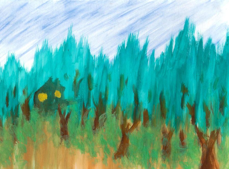 The Woods by Zakuro-Kona