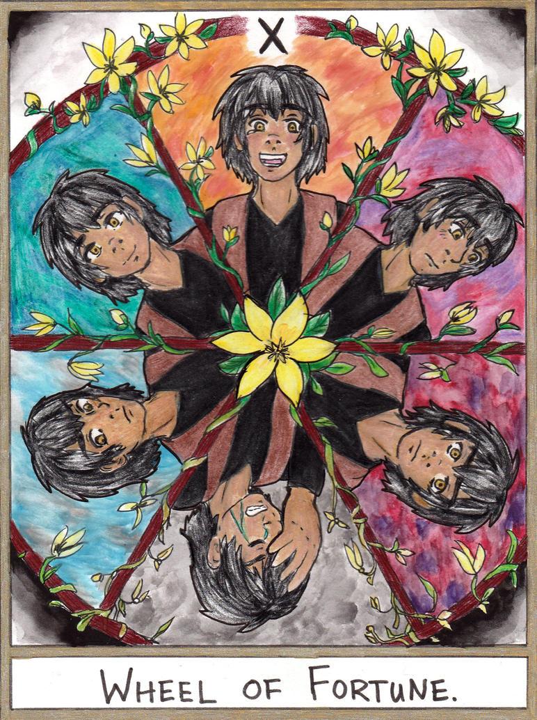 Tarot X The Wheel Of Fortune: X Wheel Of Fortune By Zakuro-Kona On DeviantArt