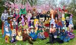 OC-Training Round 10 Photoshoot Collab by Zakuro-Kona