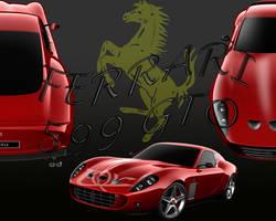 Ferrari 599 GTO by firebladenatjox