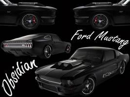Ford Mustang Obsidian by firebladenatjox