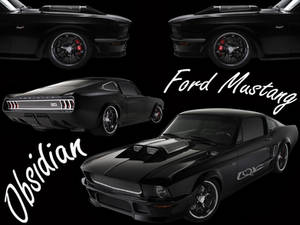 Ford Mustang Obsidian