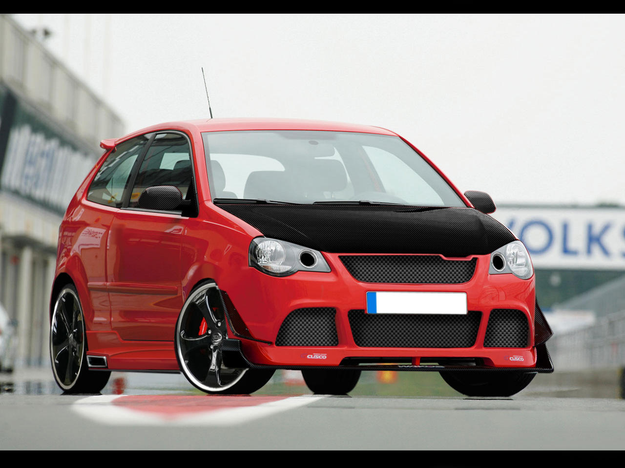 Polo GTI Evo Sharpshooter by