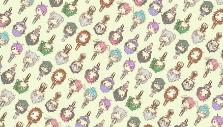 Chibi Chibi OC Wallpaper