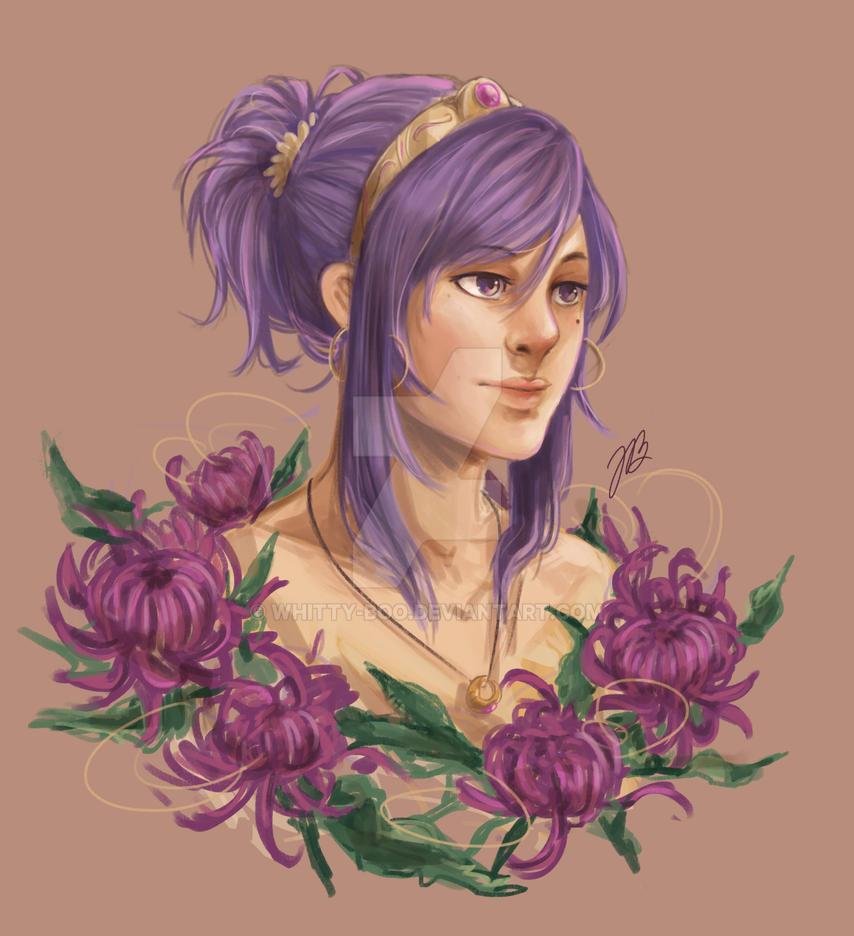 Chrys Portrait Study by whitty-boo