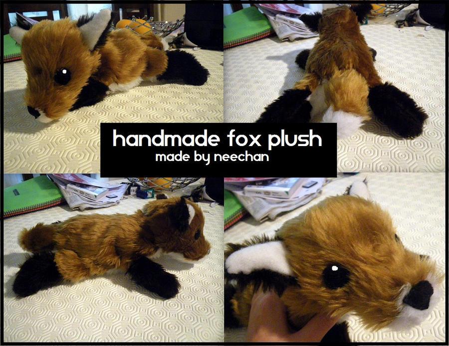 fox plush by Vaccinekiss