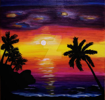 Palmtrees-beach-byBirgitaNeliaJay