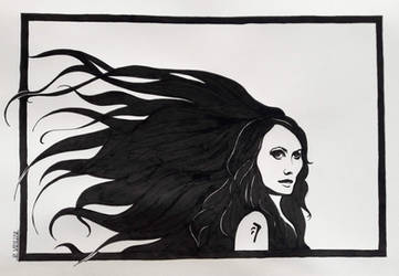 Commission Amara/Darkness (Supernatural) ++SOLD++ by Tryphina
